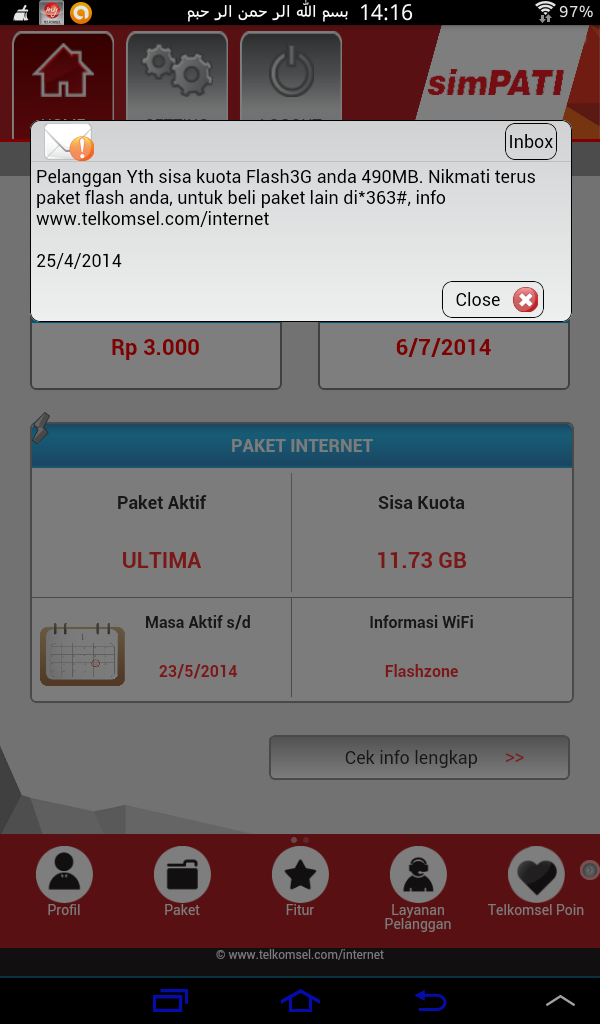 mytelkomsel android