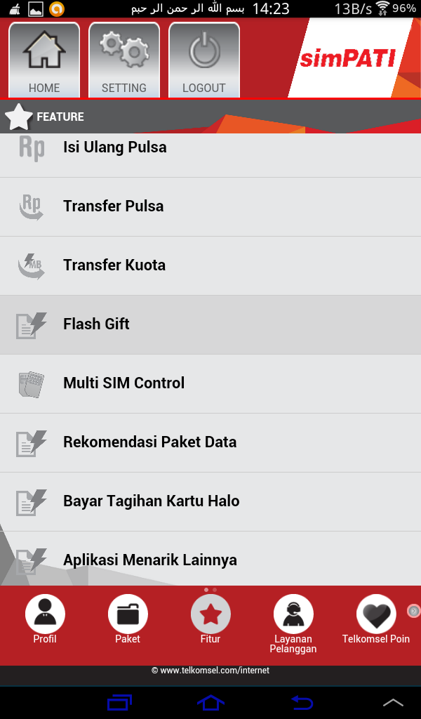 mytelkosel android